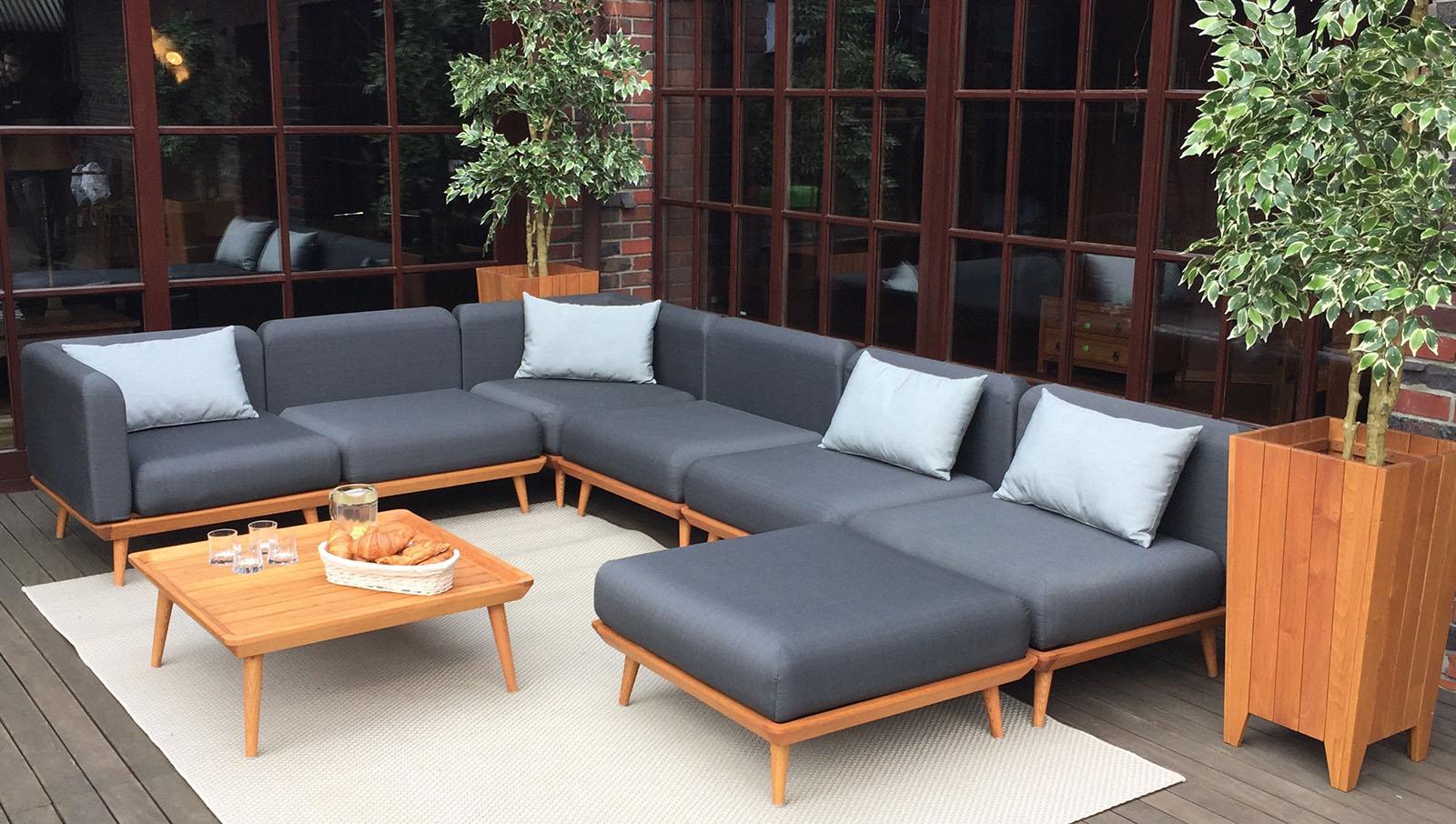 Modish Wypoczynkowe meble ogrodowe, łóżka, narożniki do ogrodu EM84
